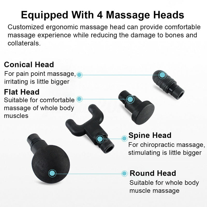 After Training Pain Relief Tissue & Muscle Relaxation Gun Massager