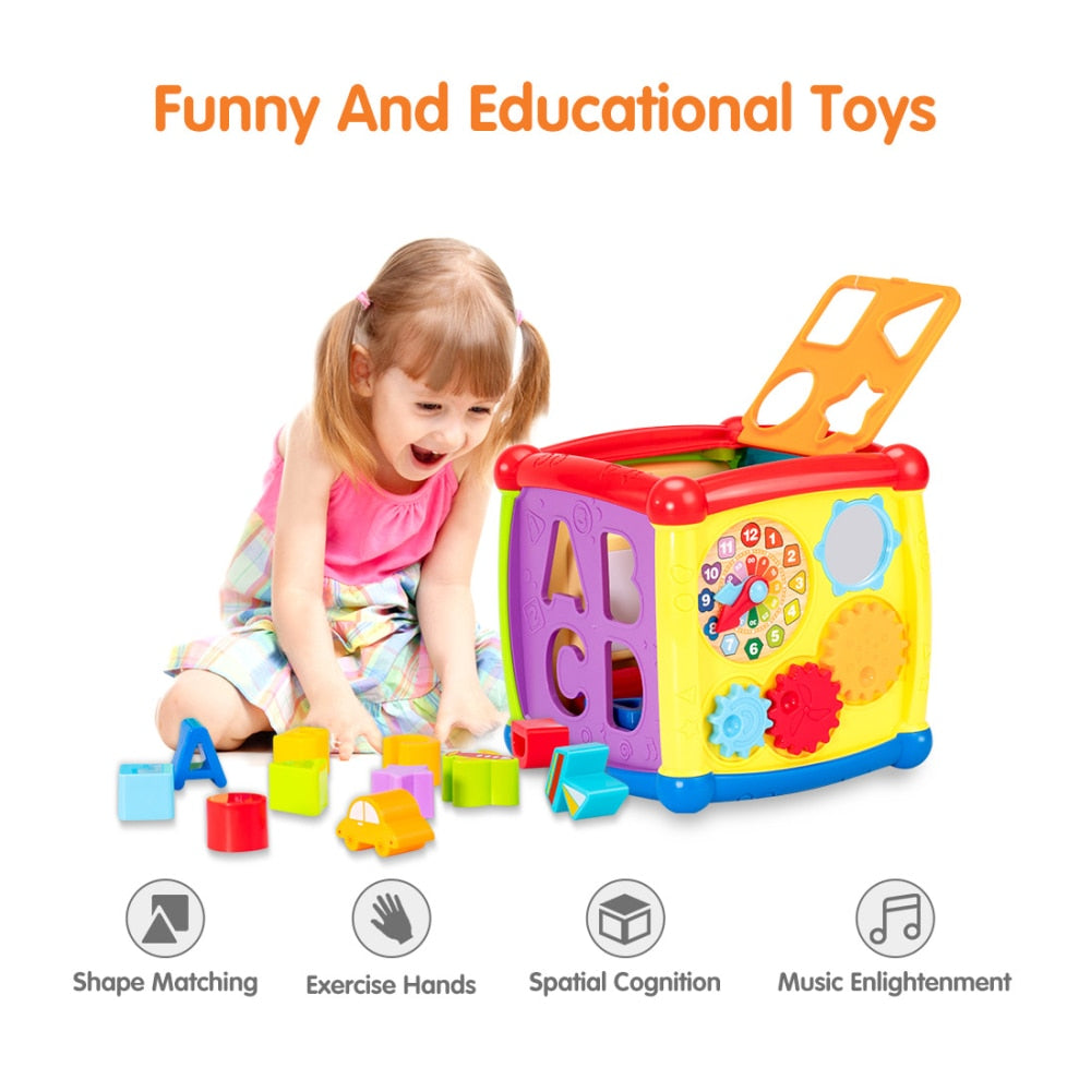 Multifunctional Baby Educational Musical Toys