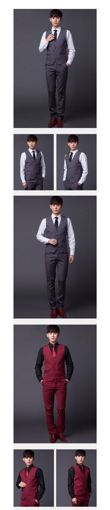 Classic Slim Fit Wedding Men's Suit Vest