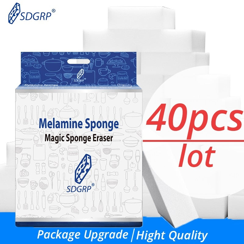 Magic Multi-Functional Melamine Sponge Eraser & Cleaner at