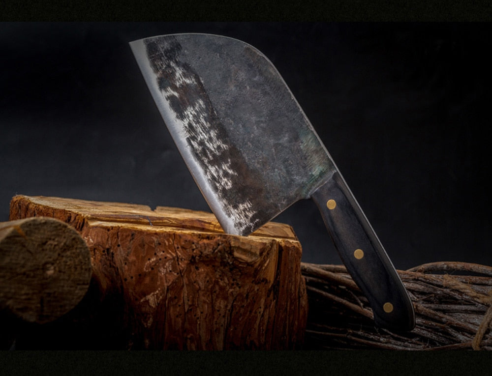 Handmade Forged High-Carbon Chef Knife