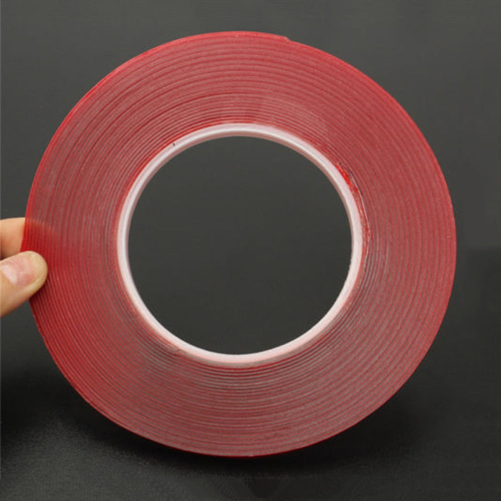 Double-Sided 3M Length Acrylic Foam Strong Transparent Adhesive Tape