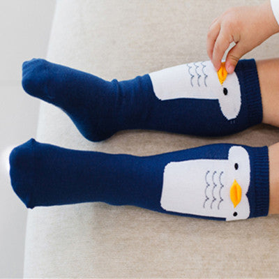 Cute Soft Cotton Sock Duck Penguin Design Cartoon Pattern Long Socks