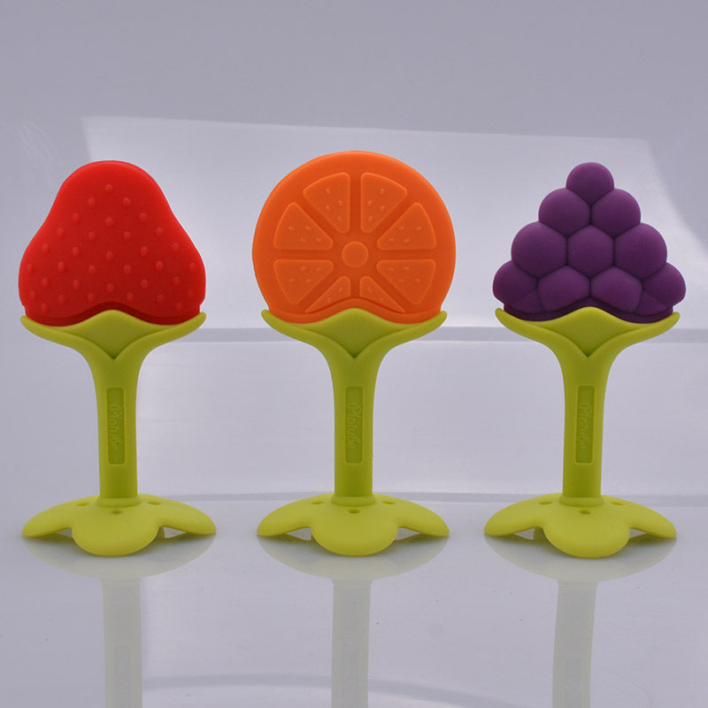 Top Silicone Fruit Shape Baby Teether