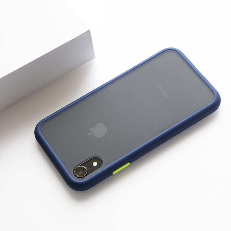 Anti-Knock Matte Hard iPhone Device Protective Case