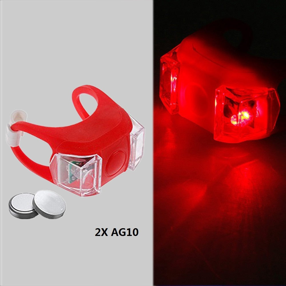 Portable USB Style Rechargeable Bicycle LED Taillight