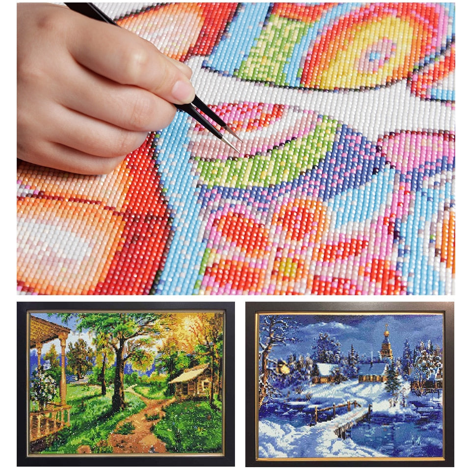 DIY Embroidery Photo Custom Diamond Painting