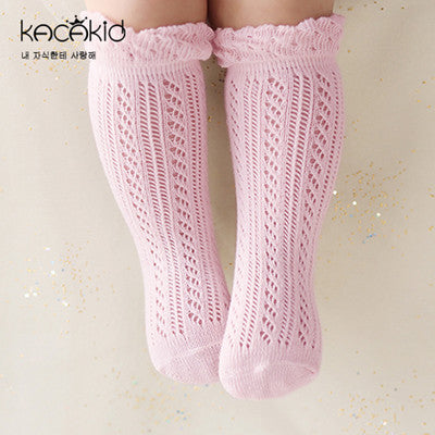 Mesh Cotton Kid Socks Fashion