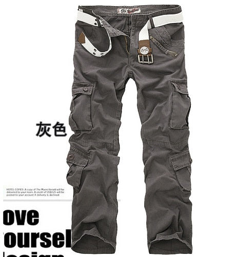 Camouflage Cotton Cargo Pant For Men