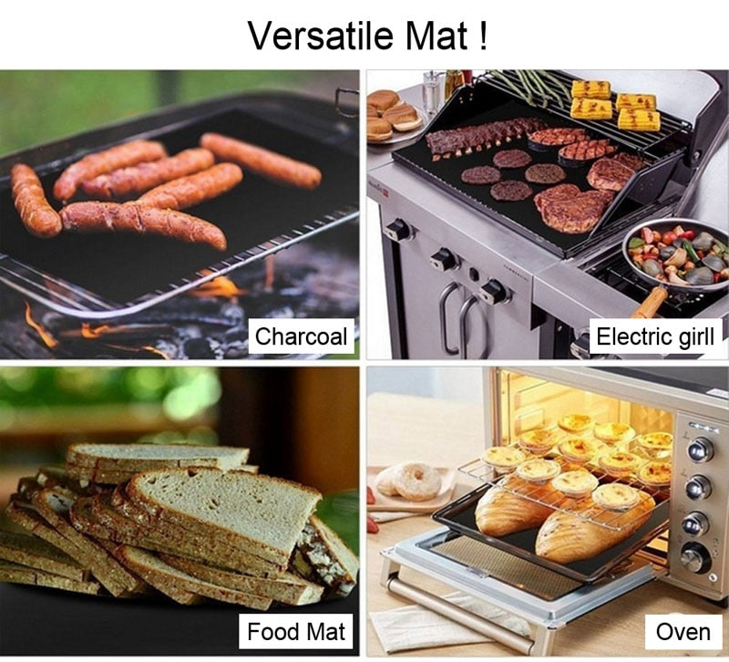 Non-Stick Barbecue Grill Mat