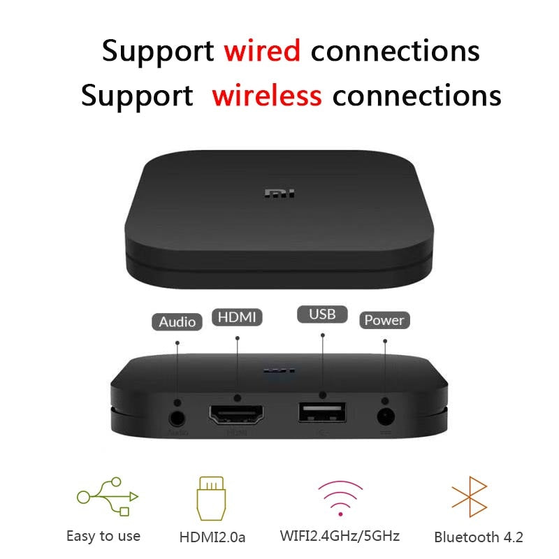 Xiaomi Mi Box S Android 8.1WiFi 4K TV Box