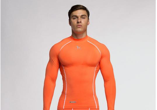 Men Compression Base Layer Skin Fitness Shirt