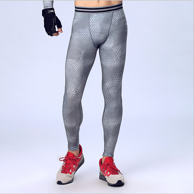 Casual Men Compression Pants Base Layer