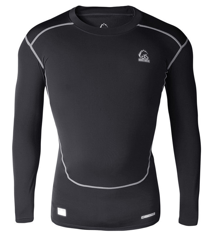 Men Top Tee Long Sleeve Compression