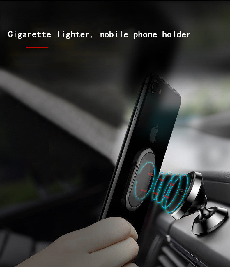 Creative USB Cigarette Lighter & Mobile Phone Bracket