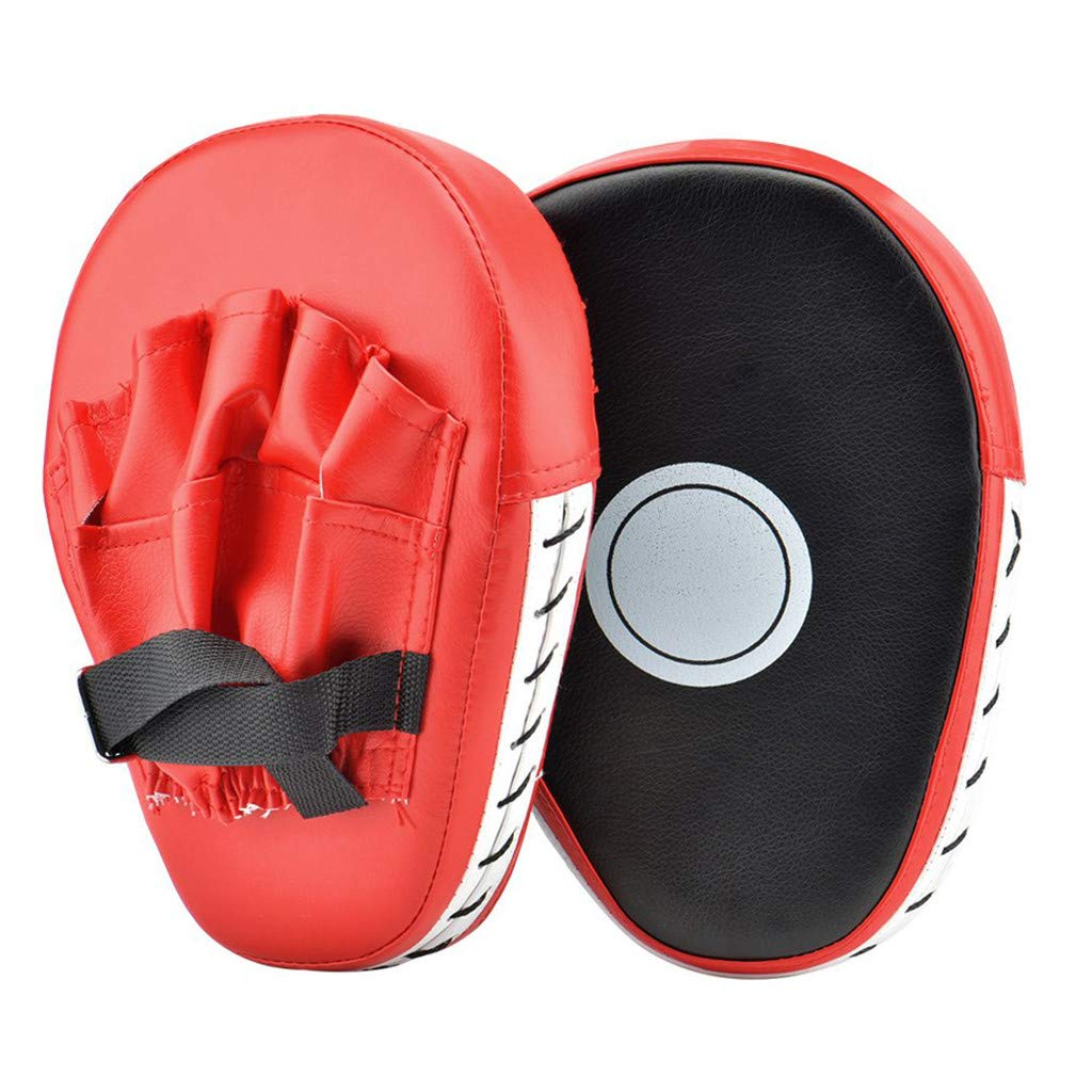 2 Pcs Kick Boxing Gloves Pad Punch Target