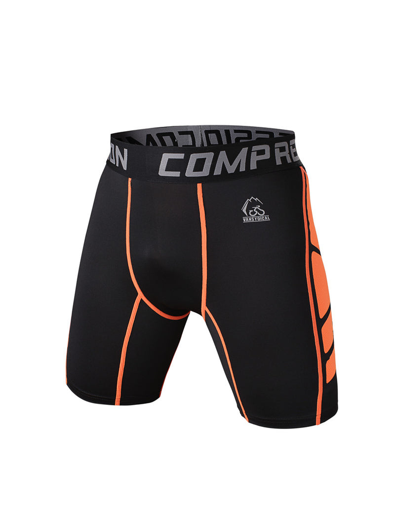 Compression Tight Base Layer Fitting Men Short