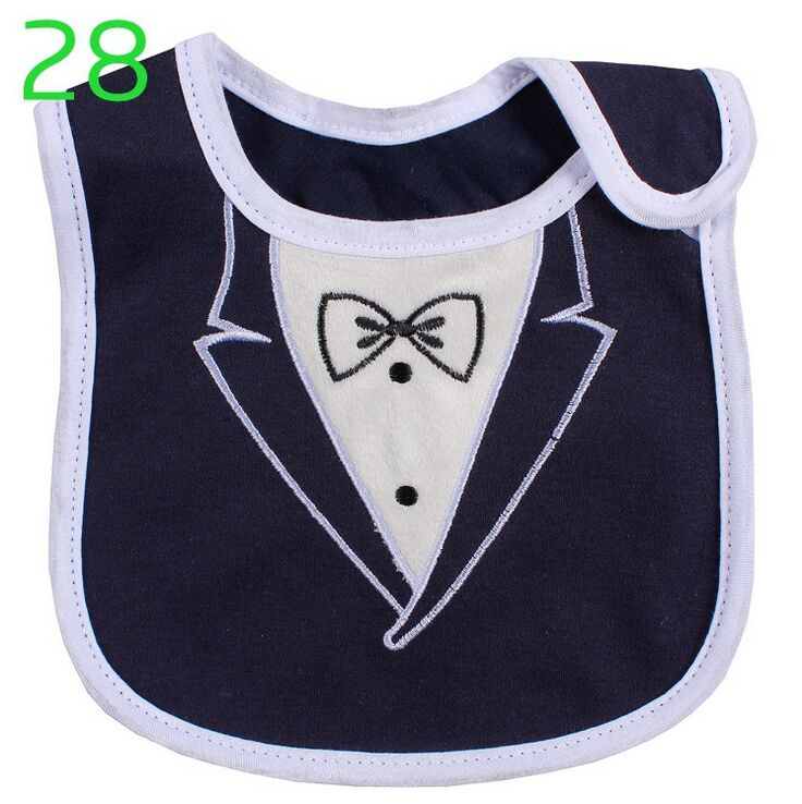 Cotton Waterproof Cartoon Baby Bib