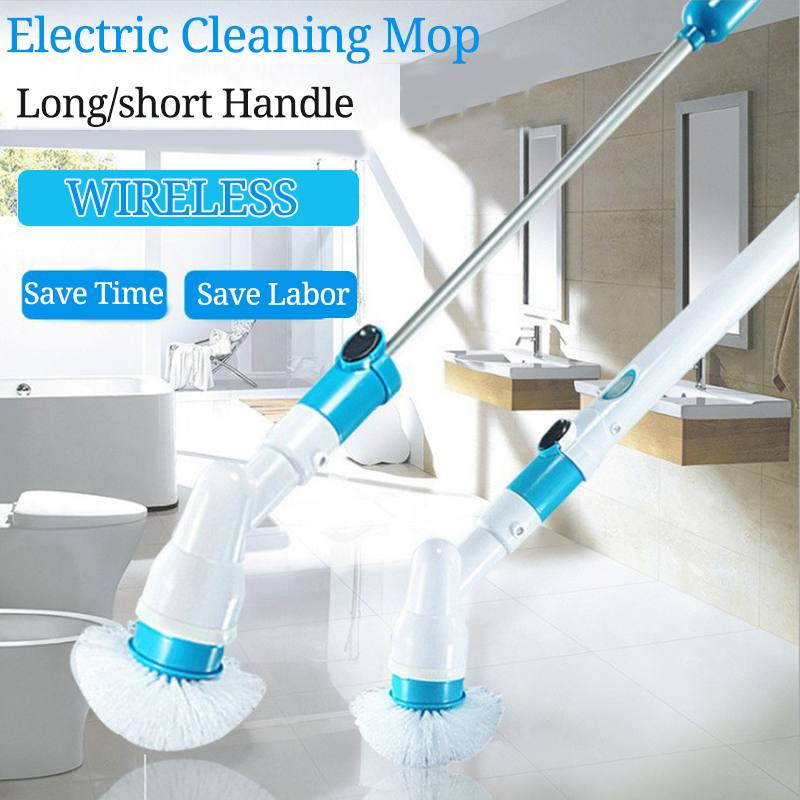 Electric Cordless Turbo Spin Scrubber & Cleaning Brush