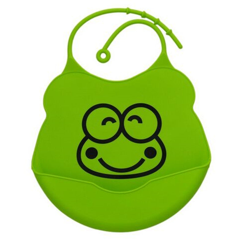Cute Cartoon Waterproof Silicone Soft Comfortable Baby Bibs