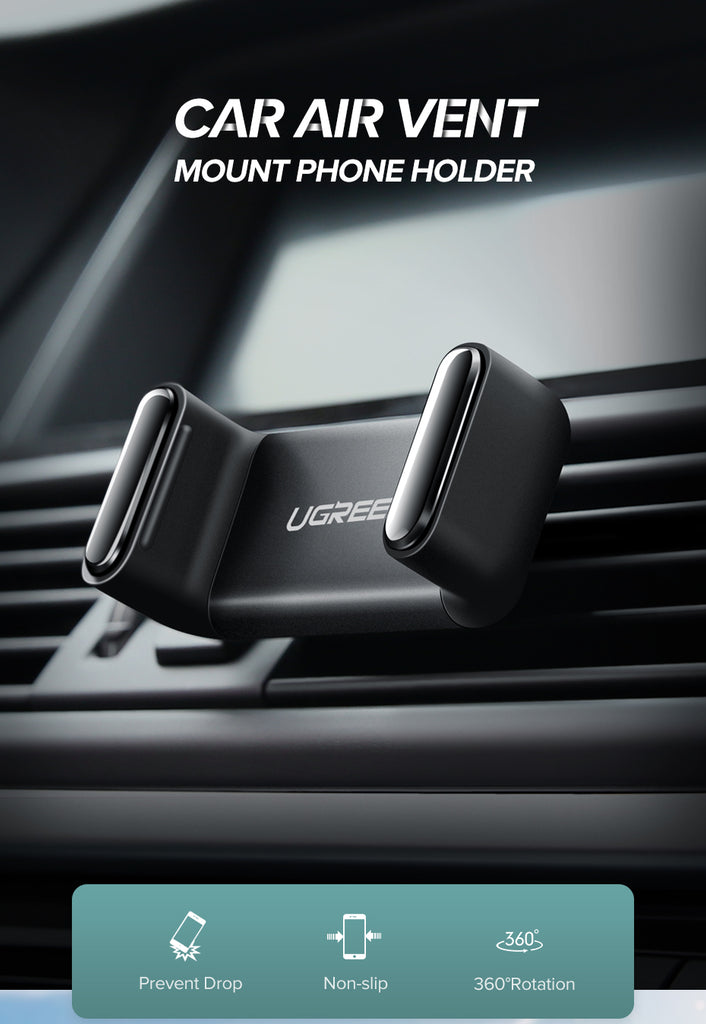 360-Degree Adjustable Air Vent Mount Ugreen Car Phone Holder