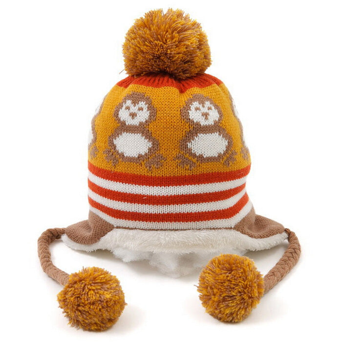 Cute Penguin Colorful Newborn Hat