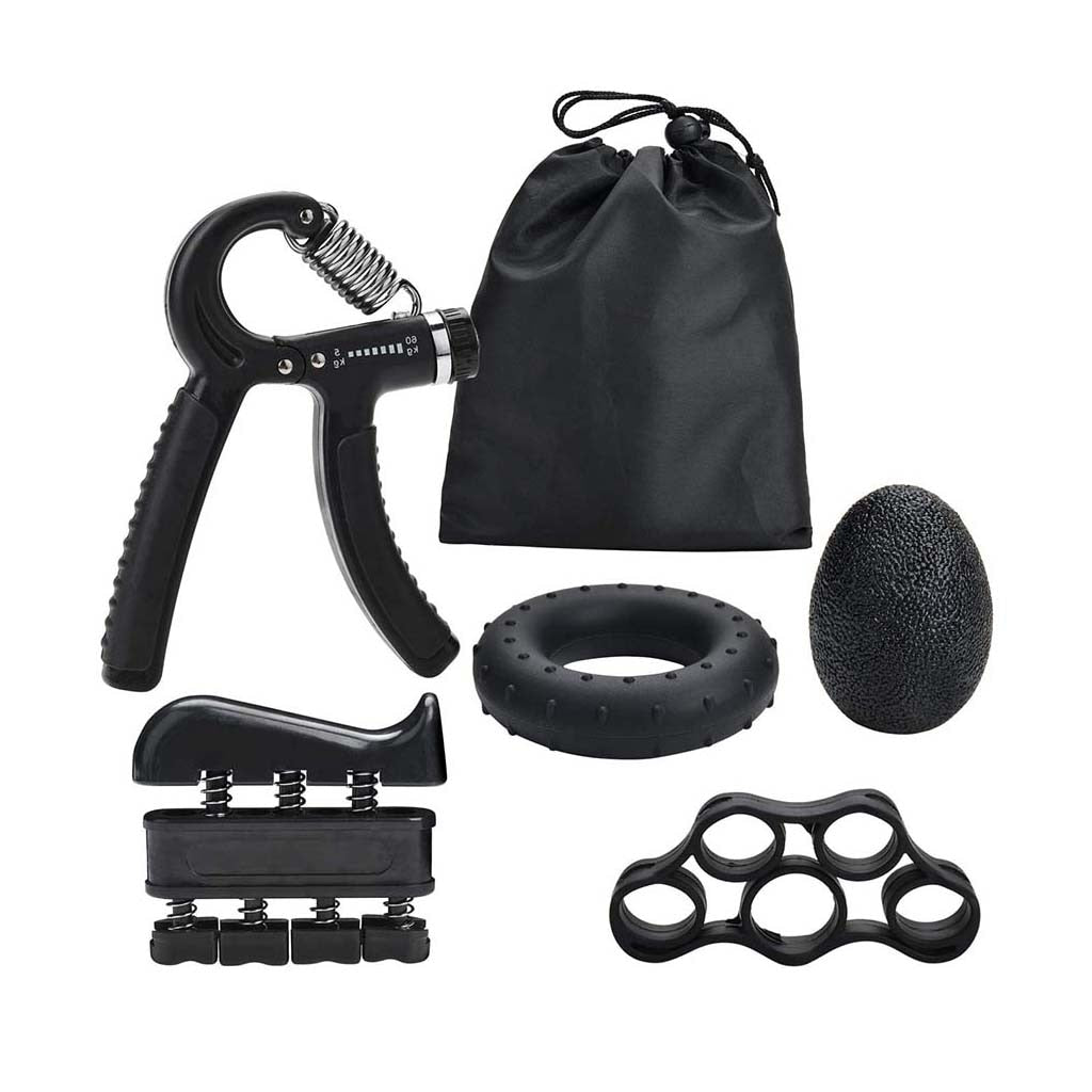 5PC/Set For Gym & Fitness Adjustable Hand Grip Set