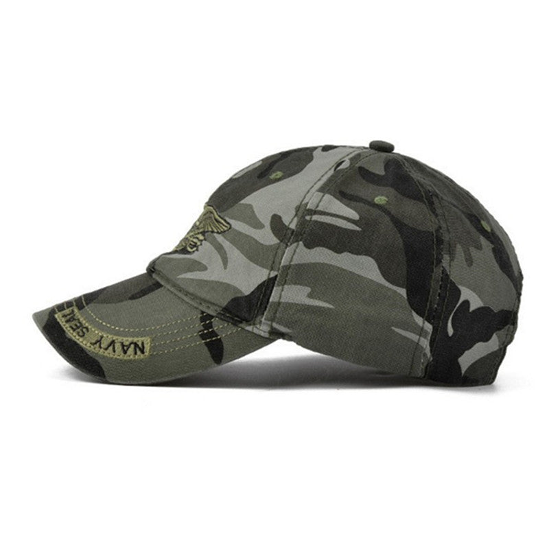 Camcouflage Sport Cap, Unisex Tactical Casual Hat