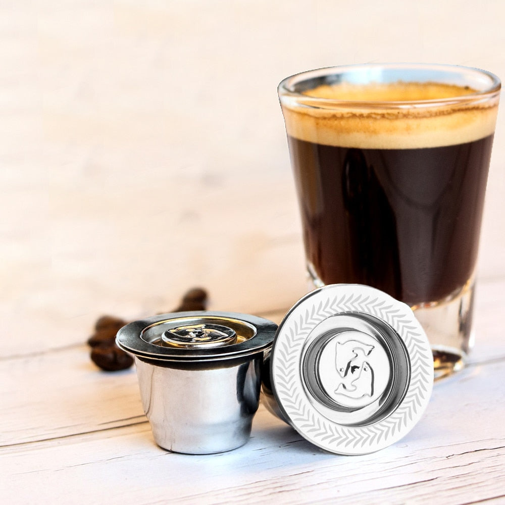 Reutilisable Refillable Coffee Capsule