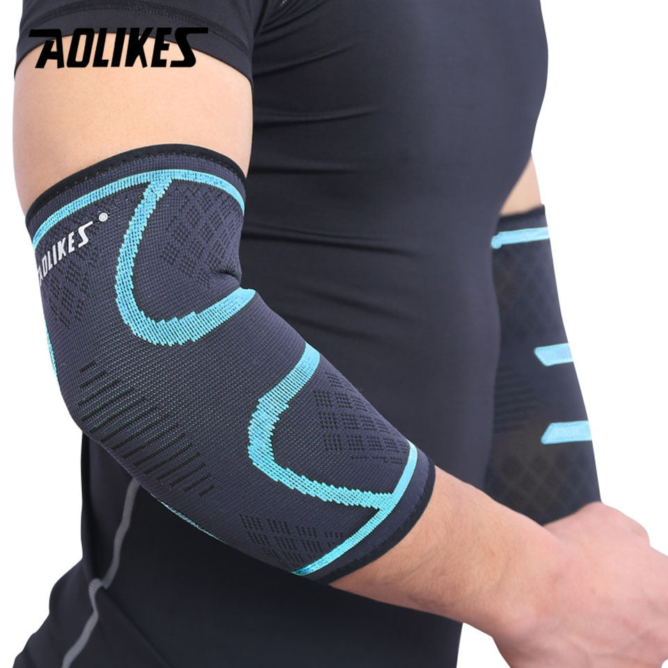 Elastic Absorb Sweat Sport Elbow Protective Pad