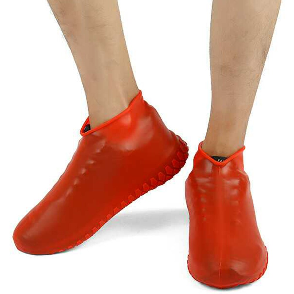 Waterproof Anti-Slip Reusable Silicone Shoe Covers