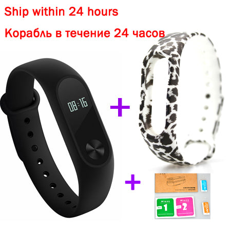 Miband Smart Wristband Bracelet OLED Touch Scren Heart Rate Bluetooth Fitness Tracke