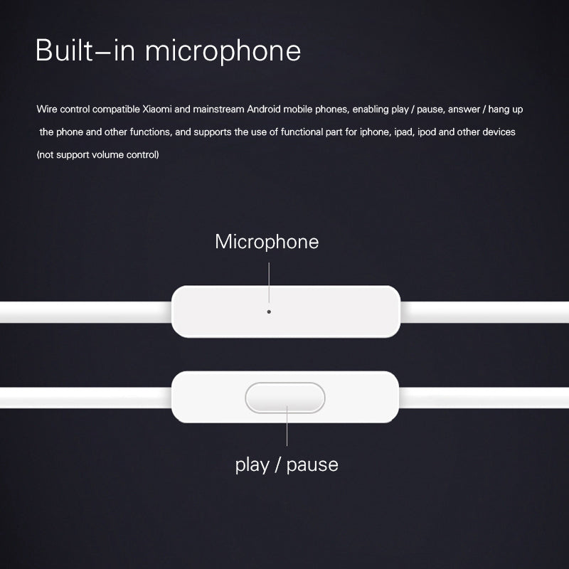 Original Bluetooth Earphones With Microphone Youth Version For iPhone Xiaomi