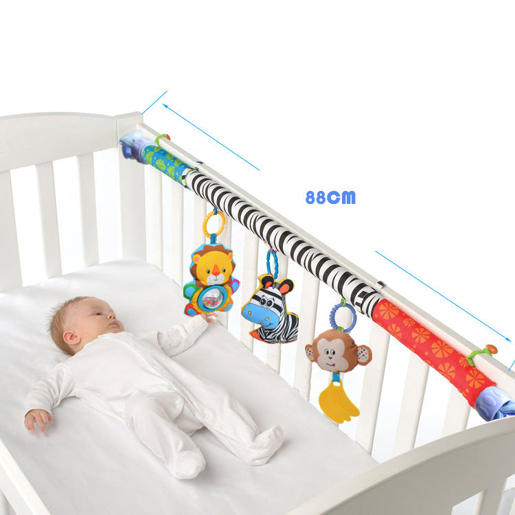 Music Toy Bed & Stroller Baby Rattle