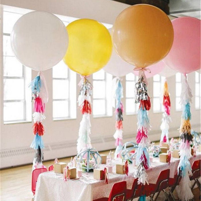 "Wedding Decoration 36"" 90CM Helium Big Latex Party Large Giant Balloons"