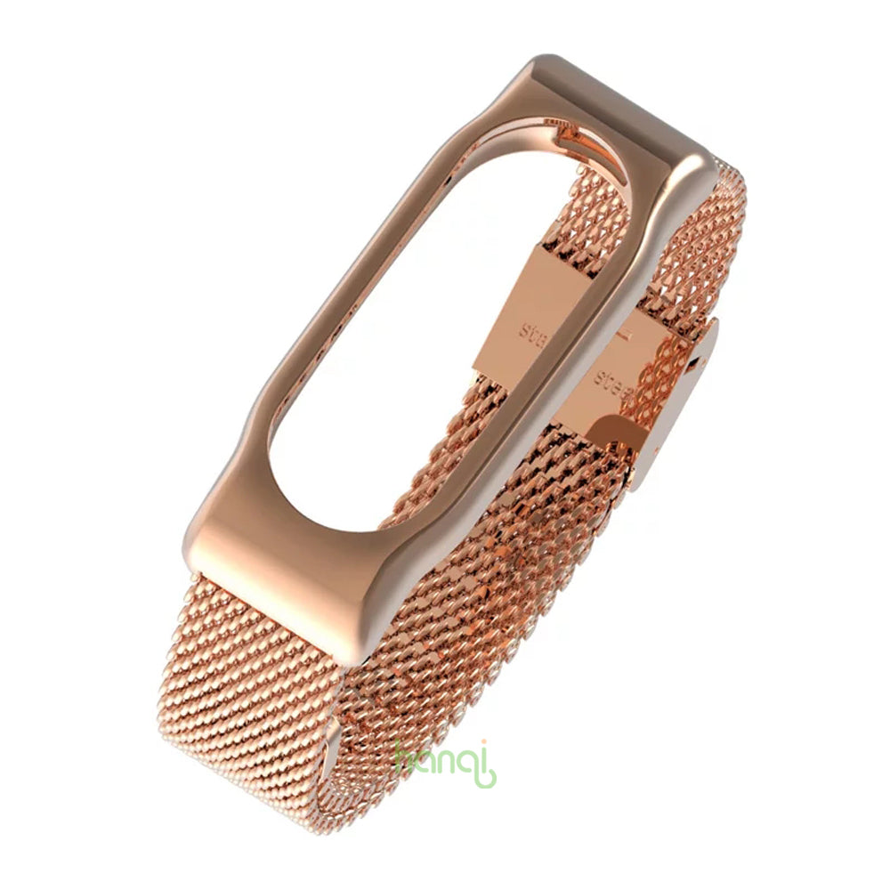 Original Mijobs Metal Strap Band For MiBand 2 Wristbands Stainless Steel Bracelet For Xiaomi Mi Band 2