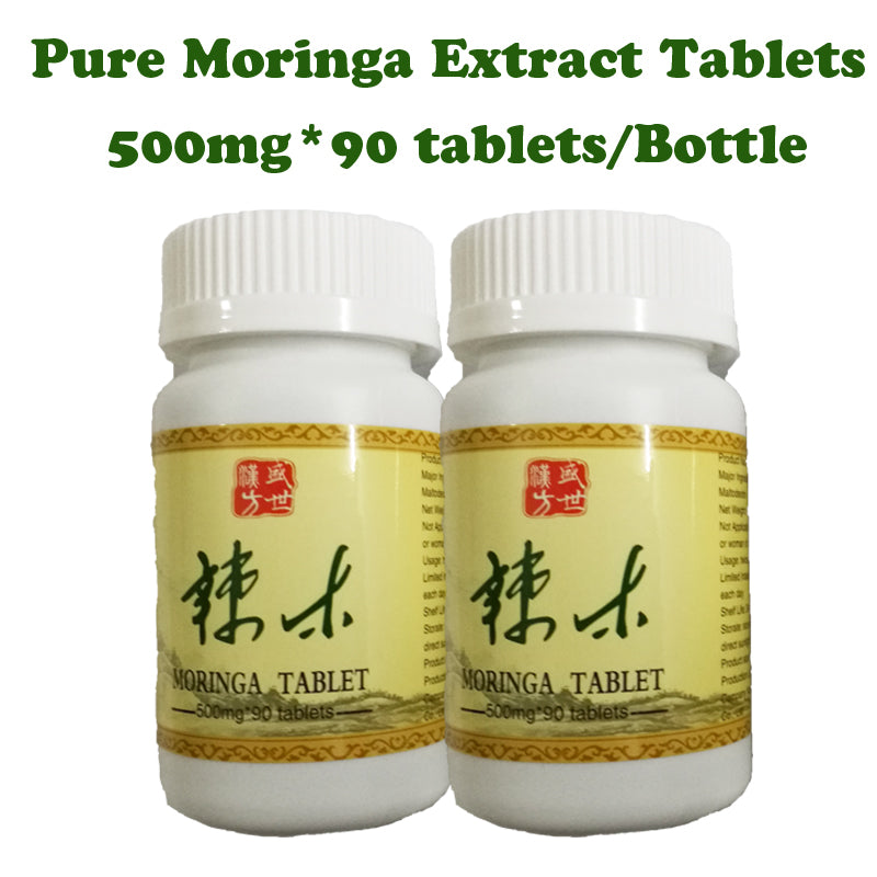 Weight Gain Moringa Leaf Extract Powder Tablets
