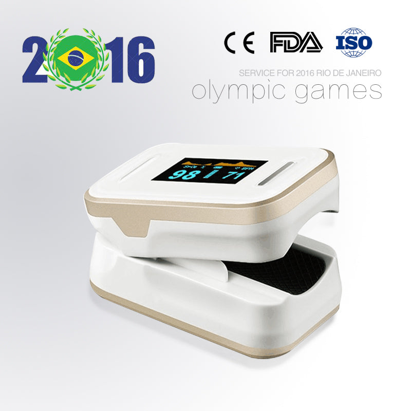 Fingertip Pulse Oximeter Golden Color