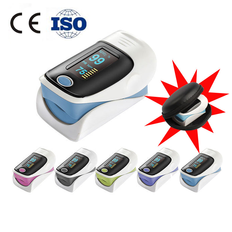 Blood Pressure Monitor & Portable Fingertip Pulse Oximeter