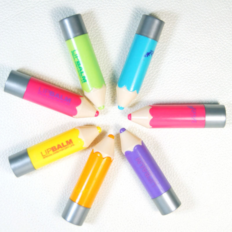 Fantastic Lip Gross Balm Crayons Funky Pencil Shaped Solid Moisturizer