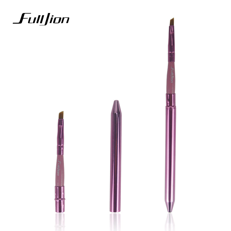 Professional Lip Makeup Brushes Portable Cosmetic Lipstick Gloss Eye Shadow Eyeliner