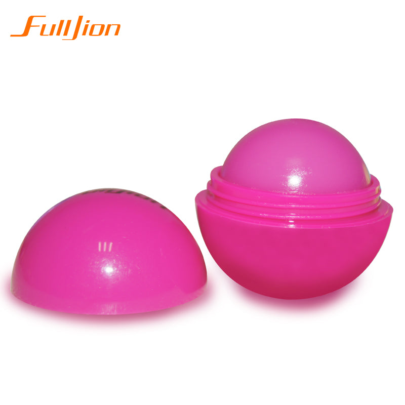 Ball Lip Balm Lipstick Organic Ingredients Lip Protector Sweet Taste Fruit Embellish Makeup