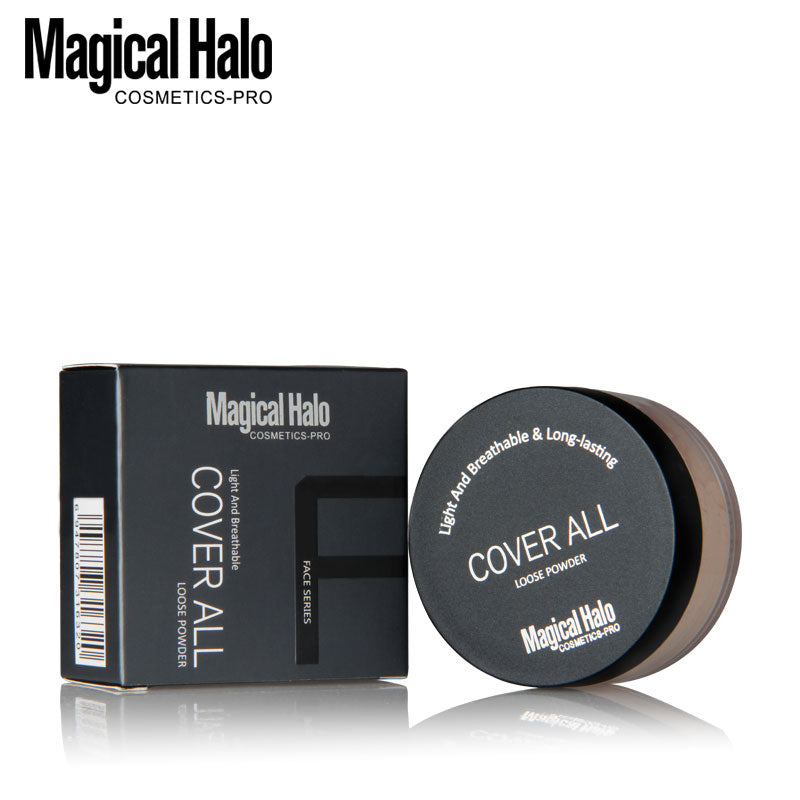 3 Colors Smooth Loose Powder Makeup Transparent Finishing Powder Waterproof Cosmetic