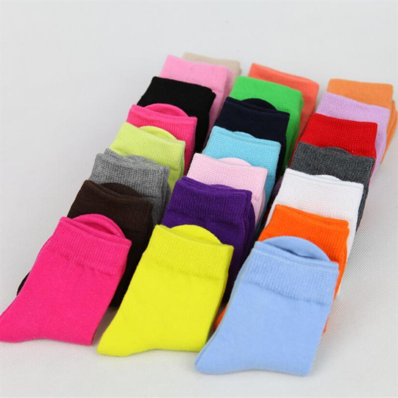 Cute Baby/Children Cotton Solid Socks For Sport