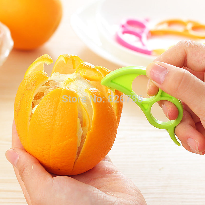 Creative Orange Peeler Easy Opener Lemon Slicer Cutter