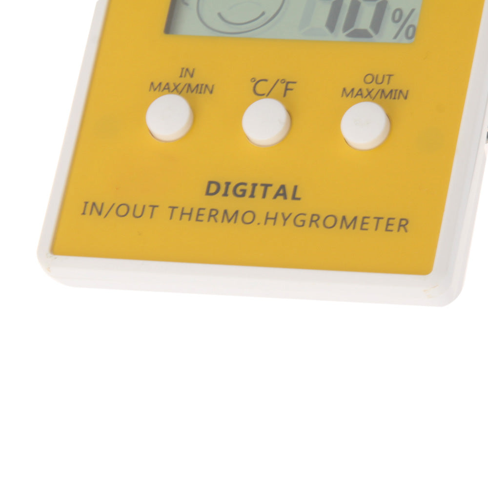LCD Digital Thermometer Temperature Humidity Meter Hygrometer Indoor Outdoor