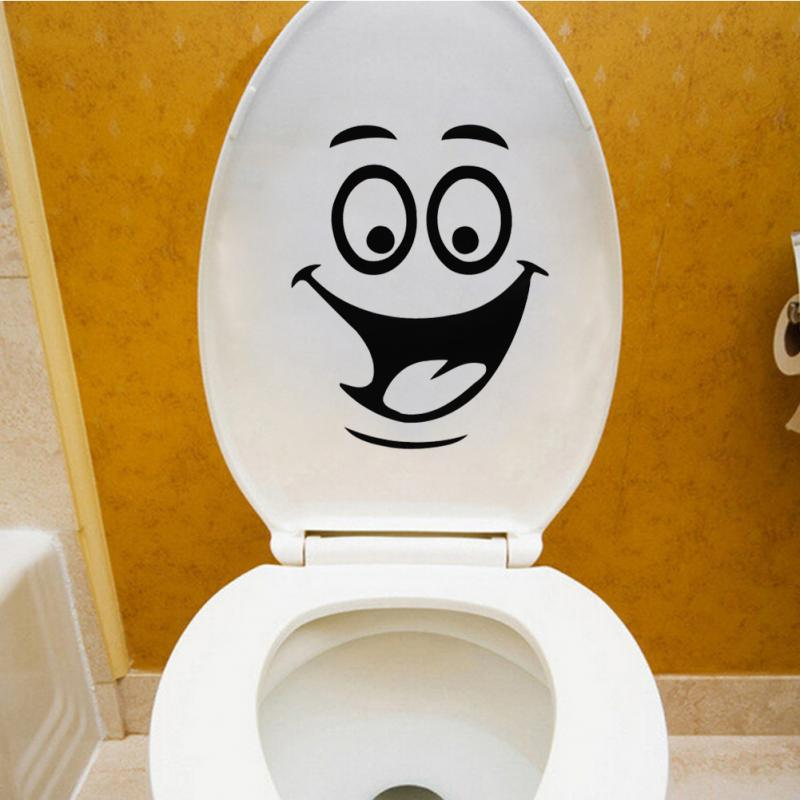 Beautiful Design Smiley Face Funny Toilet Bathroom