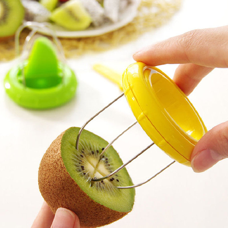 Mini 2 in 1 Kitchen Gadget Fruit Cutter Peeler Slicer