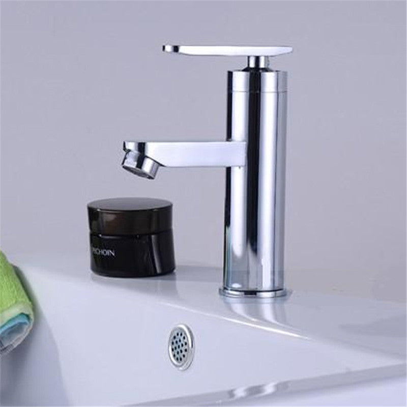 Single Handle Kitchen Bathroom Basin Sink Hot And Cold Water Mix Faucets Washbasin Tap