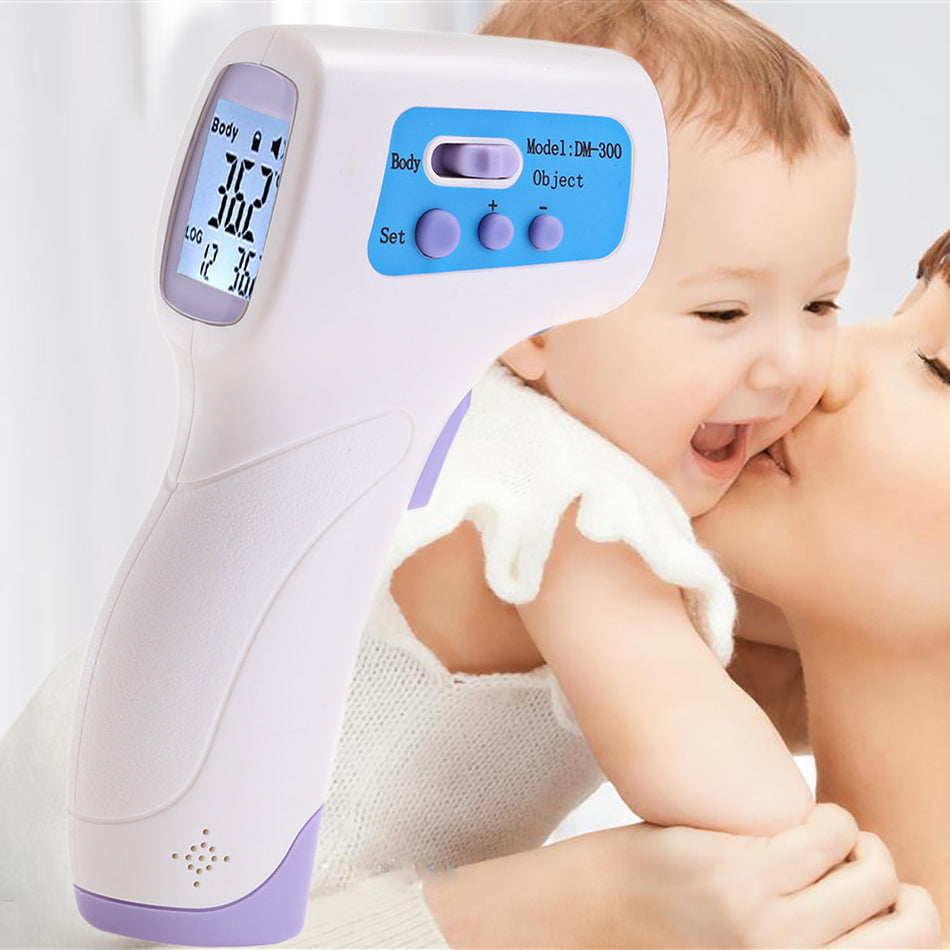 Digital LCD Infrared Thermometer Gun Non-Contact IR Temperature Measurement Laser Gun
